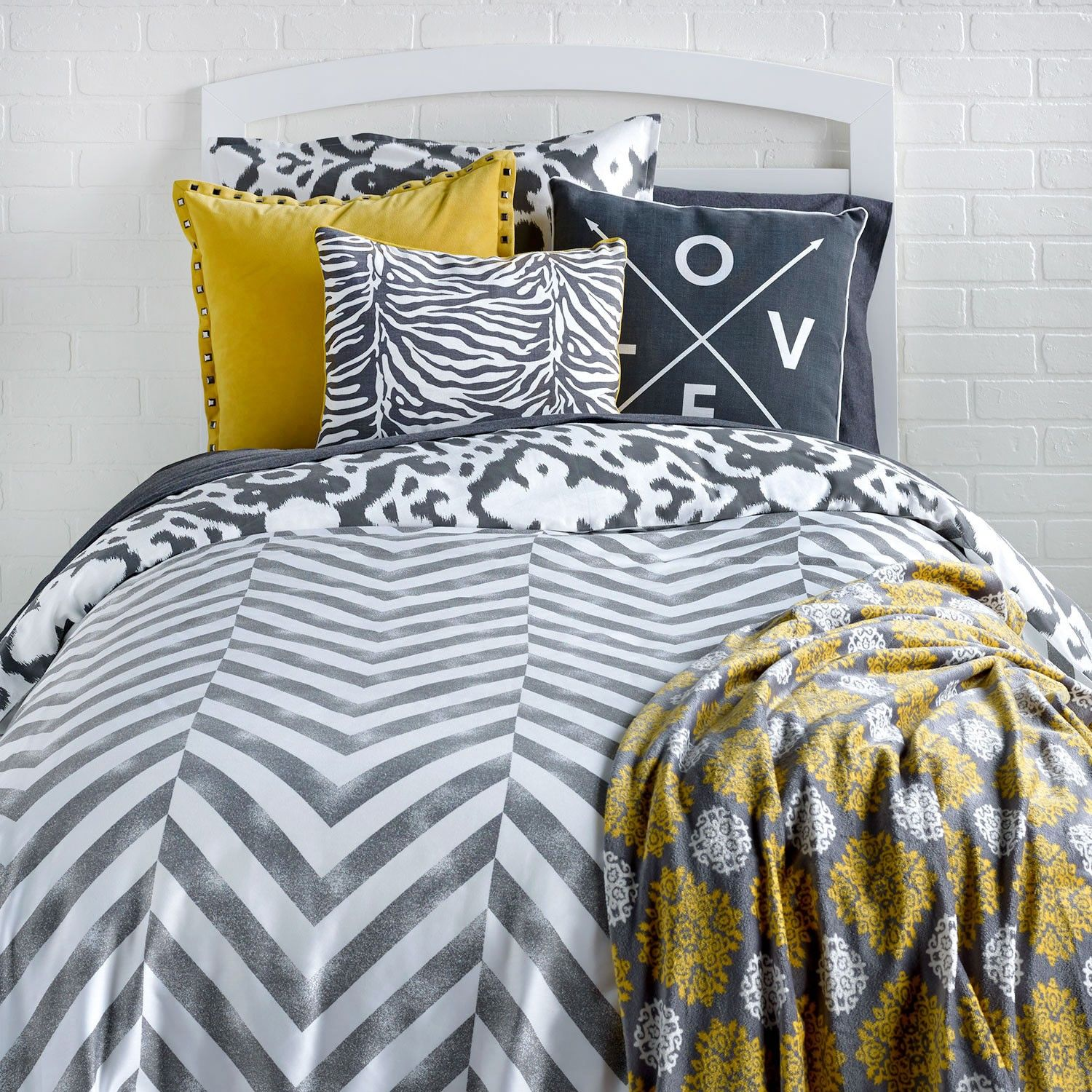 A Vivid Charcoal Color Is Printed On A Crisp White Cotton
