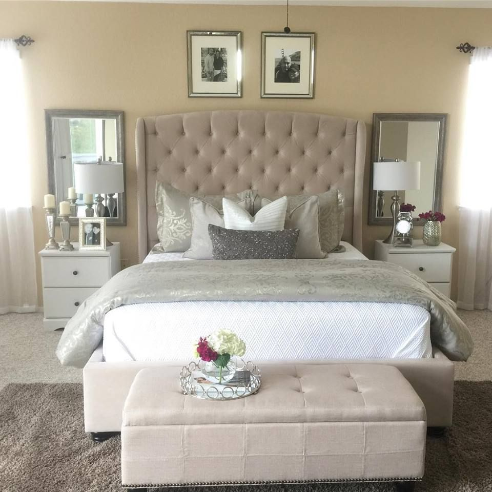 c1807bfdcd2 The new Mariah Bed looking glam in  AliciaMinyard  s space.