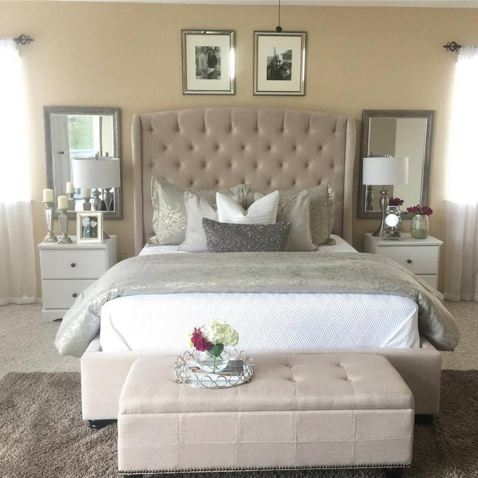 Mariah Queen Upholstered Panel Bed In 2020 Bedroom Setup Bedroom Decor Room Decor