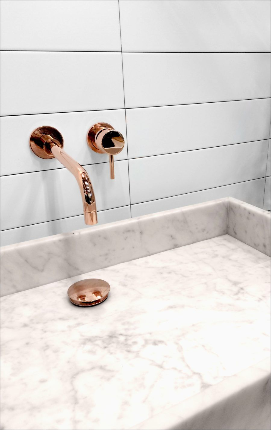 Bathroom Design Gold Faucet Bathroom Style Rose Gold Faucet On The