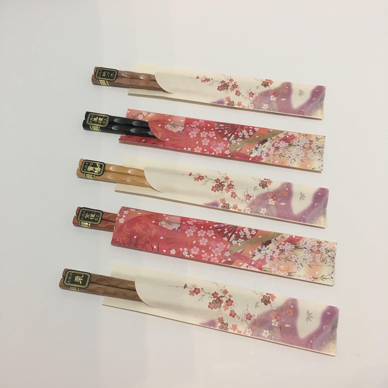 Japanese lacquered chopsticks HASHI set of 10 WAJIMA NURI from Wajima