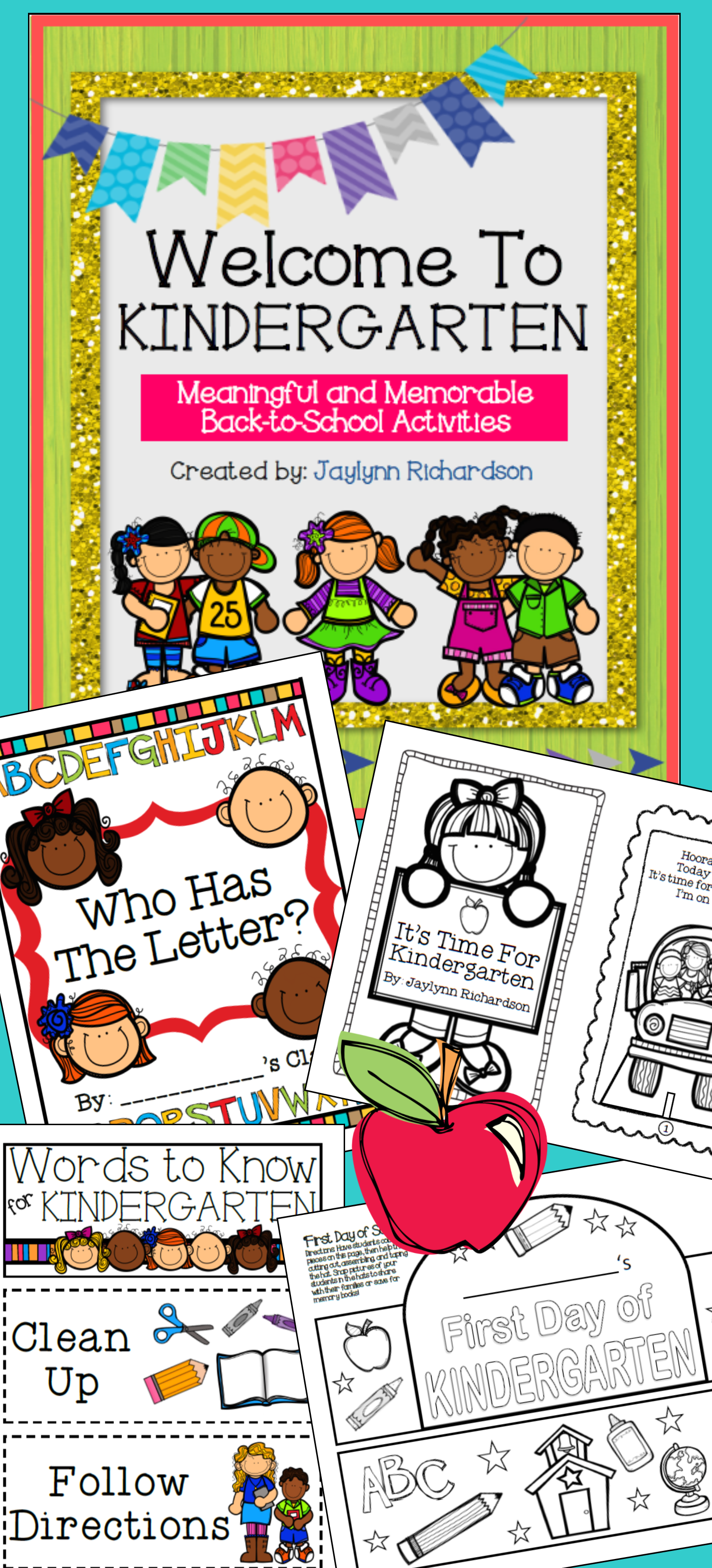 Welcome To Kindergarten Meaningful And Memorable Back To School Activities