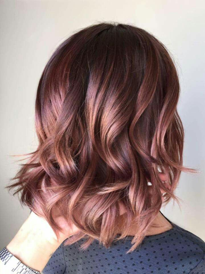Pin By Megan Speake On Hair Hair Styles Gorgeous Hair Color Rose Hair Color