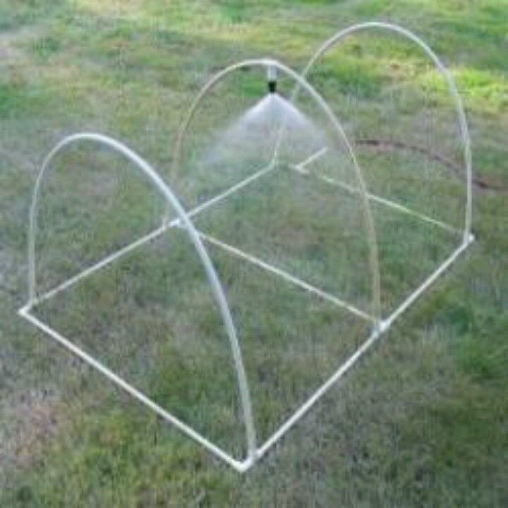 Diy Pvc Gardening Ideas And Projects: Perhaps Use This Design To Add