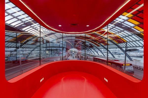 Projekt: Busfahrer-Pavillon - CROSS Architecture