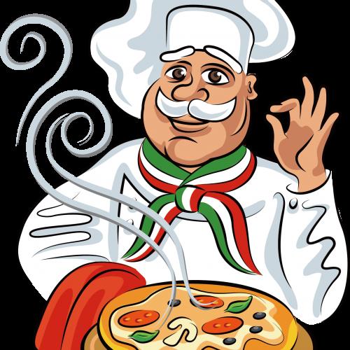 Free Png Downloads Konfest Pizza Cartoon Pizza Vector Cartoon Chef