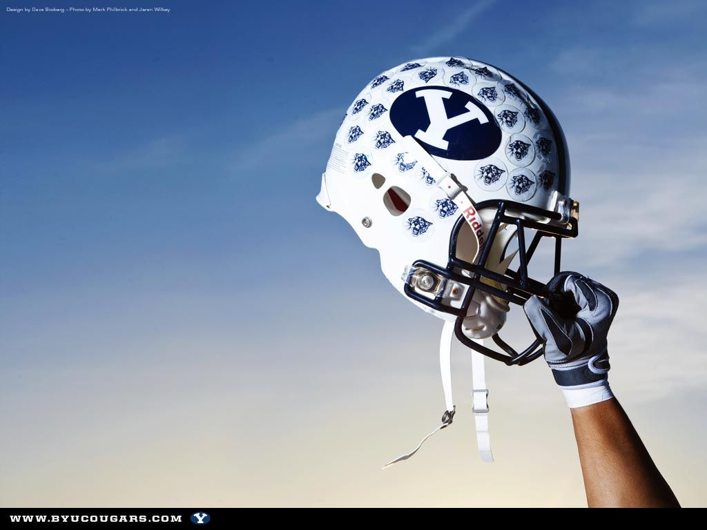 2009 Byu Football Wallpaper Better Late Than Never Byu Football Football Football Wallpaper