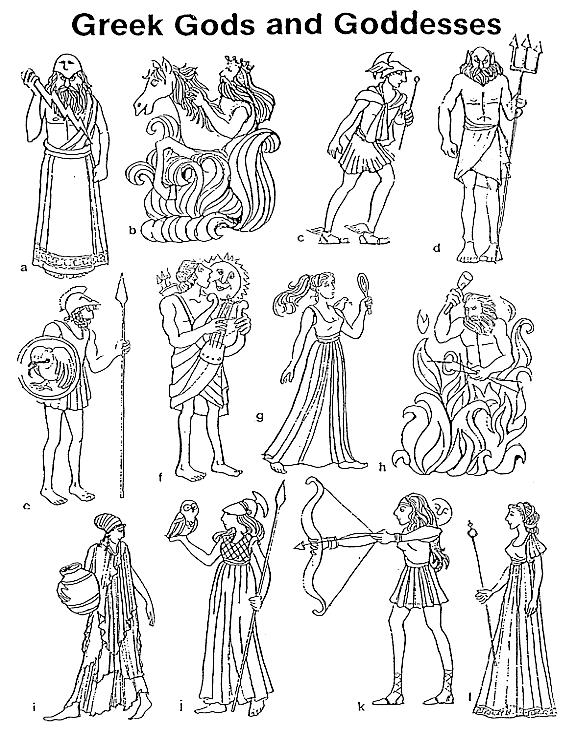 Mythologie Grecque 47 Dieux Et Deesses Des Dessins A Colorier De Dieux Et Deesses Vous Pouvez Mythologie Grecque Dieux Et Deesses Dieux Et Deesses Grecs