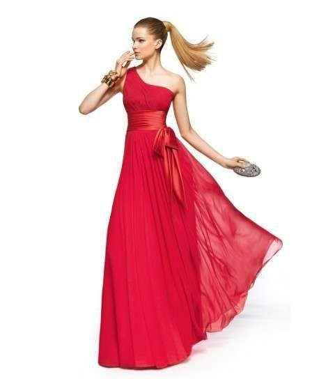 buy popular aa142 071ae Abiti da cerimonia da sera - Abito rosso lungo da sera   WOW ...
