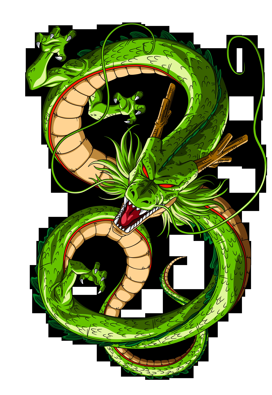 Shenron By Orco05 On Deviantart Com Imagens Dragon Ball Gt Dragon Ball Dragoes