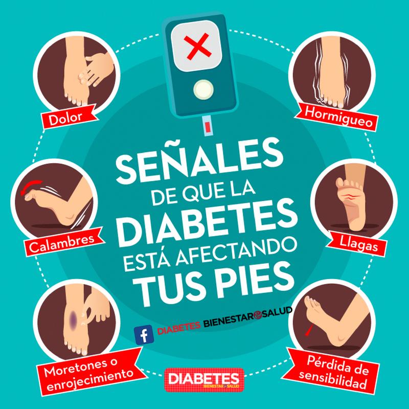 Señales de que la Diabetes está afectando tus pies