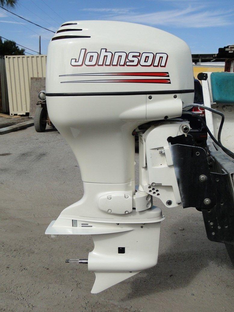 2004 Johnson Evinrude 90 HP 2 Stroke 20 034 Outboard Motor | eBay