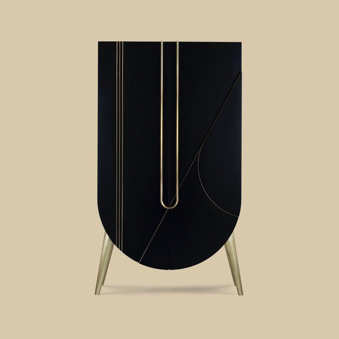 Semicircular Ktv Room Interior Design: Saqris Cabinet, Bringing An Accent Furniture Piece To Your