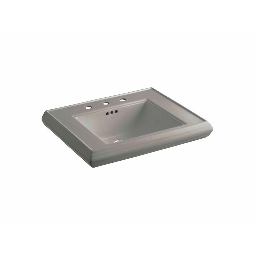 Kohler Memoirs 5 3 8 In Ceramic Pedestal Sink Basin In Mexican