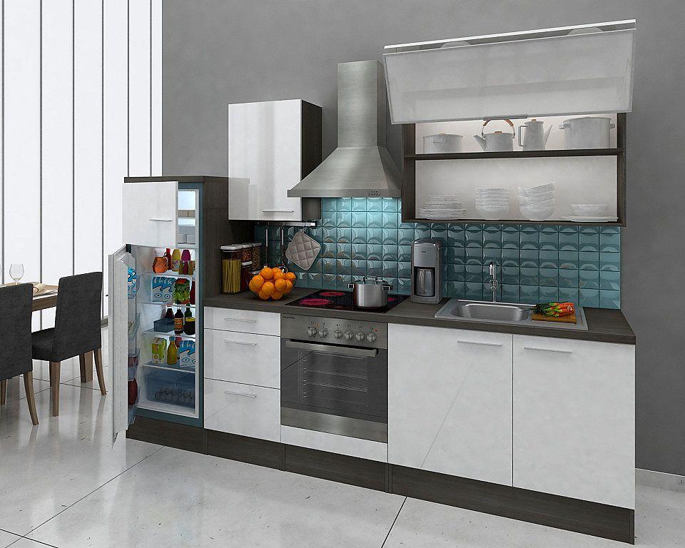 Respekta Küchenzeile »Lea«, mit E-Geräten, Breite 280 cm Jetzt - küchenblock ohne e geräte