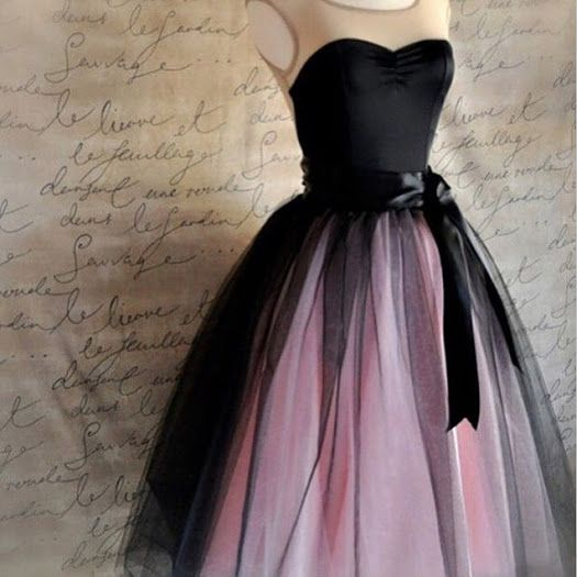 Pink And Black Plus Size Dresses For Formal Occasions Fashion