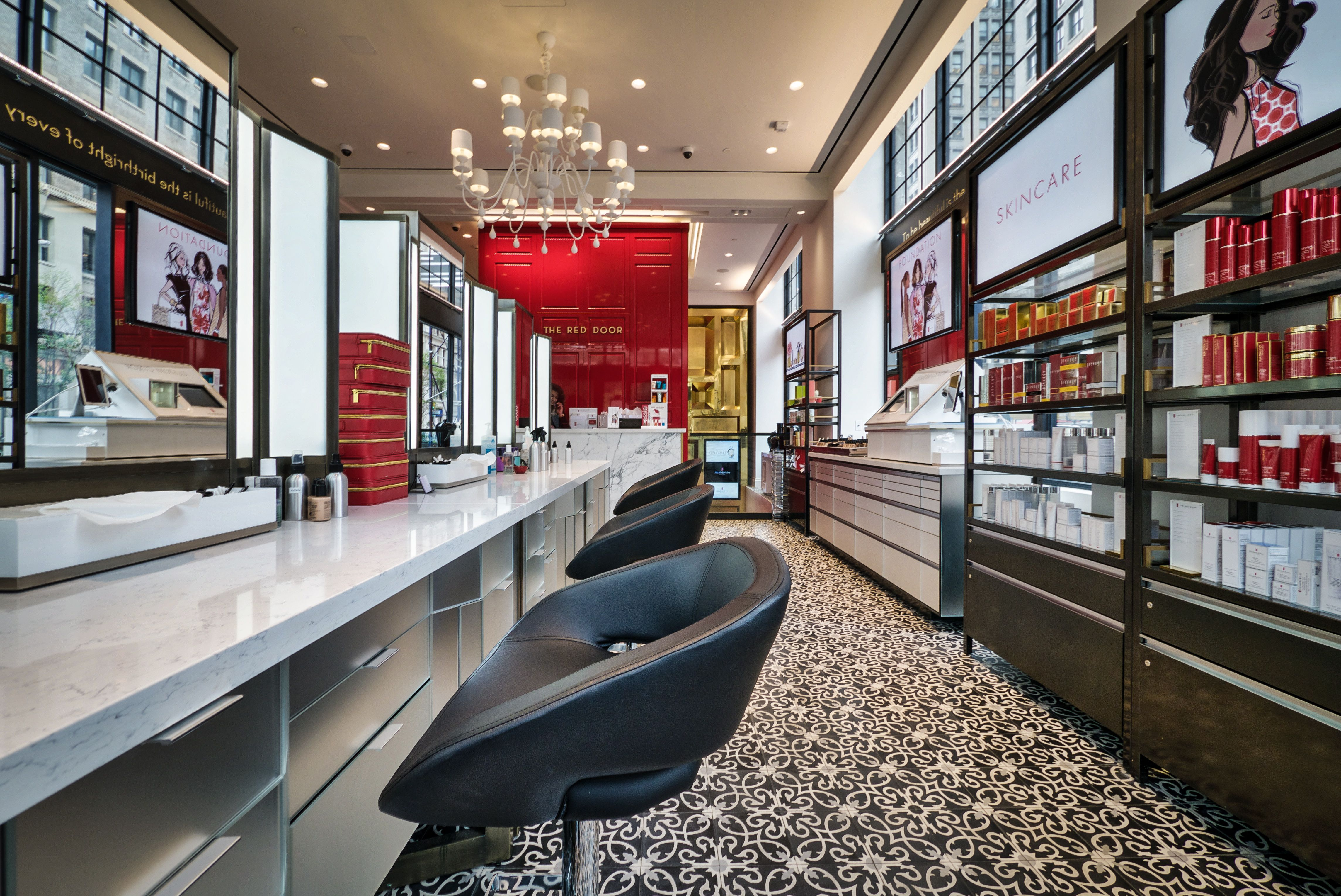 Elizabeth Arden Red Door Spa In The Heart Of Union Square Which