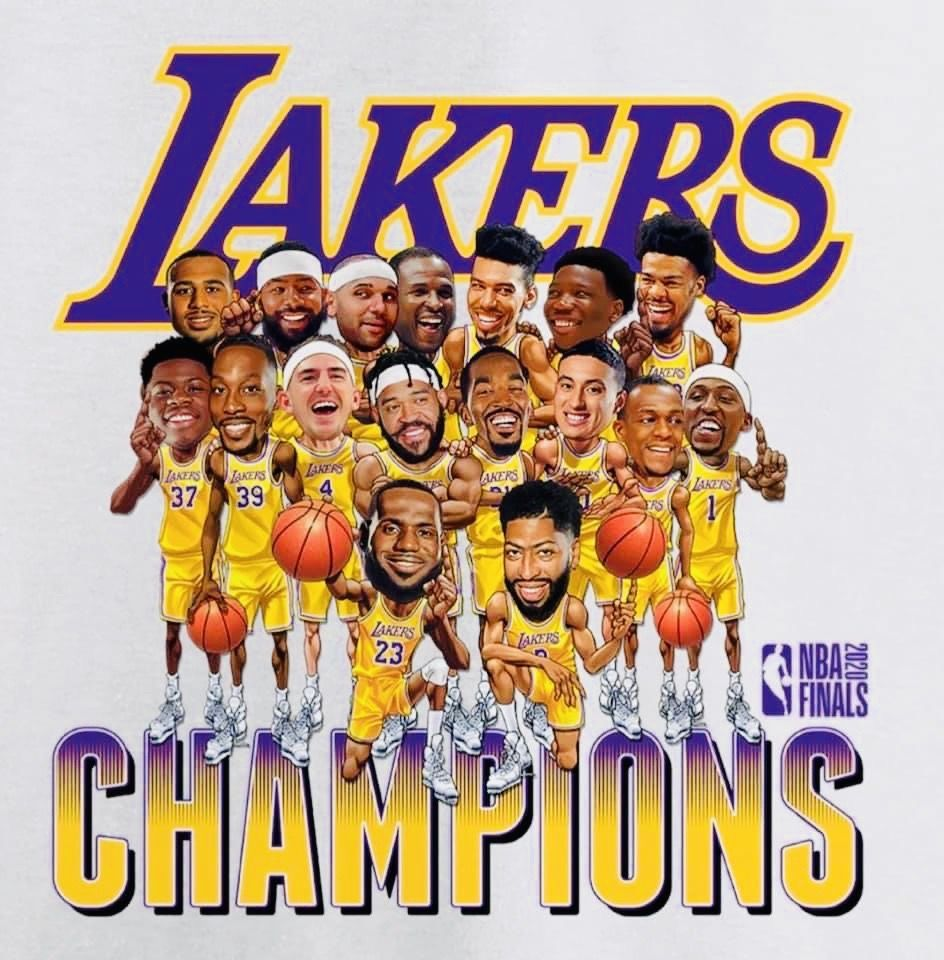 Pin By Matthew Sedillo On Los Angeles Lakers In 2020 Lakers Championships Nba Nba Champions