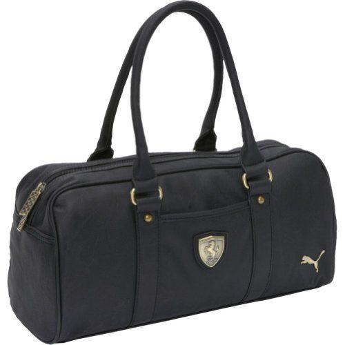 Puma Ferrari LS Handbag (BLACK) « Clothing Impulse / 80% OFF ...