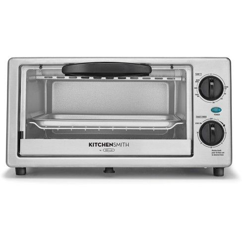 Kitchensmith Toaster Oven Stainless Steel Stainless