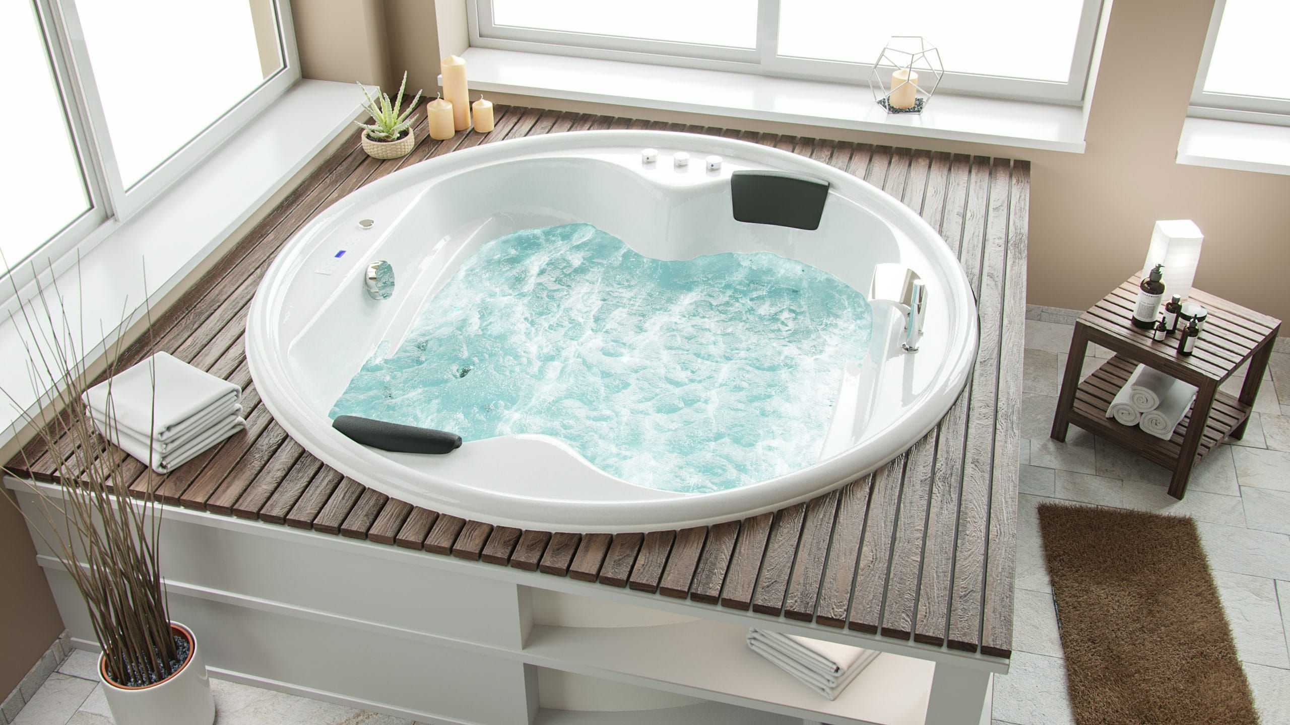 Whirlpool Saturn Rund Premium in 2020 Whirlpool