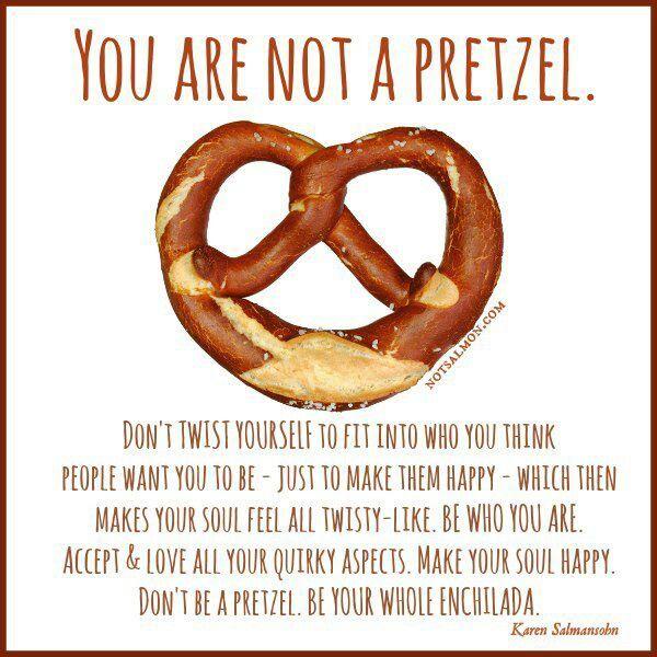 Not a pretzel