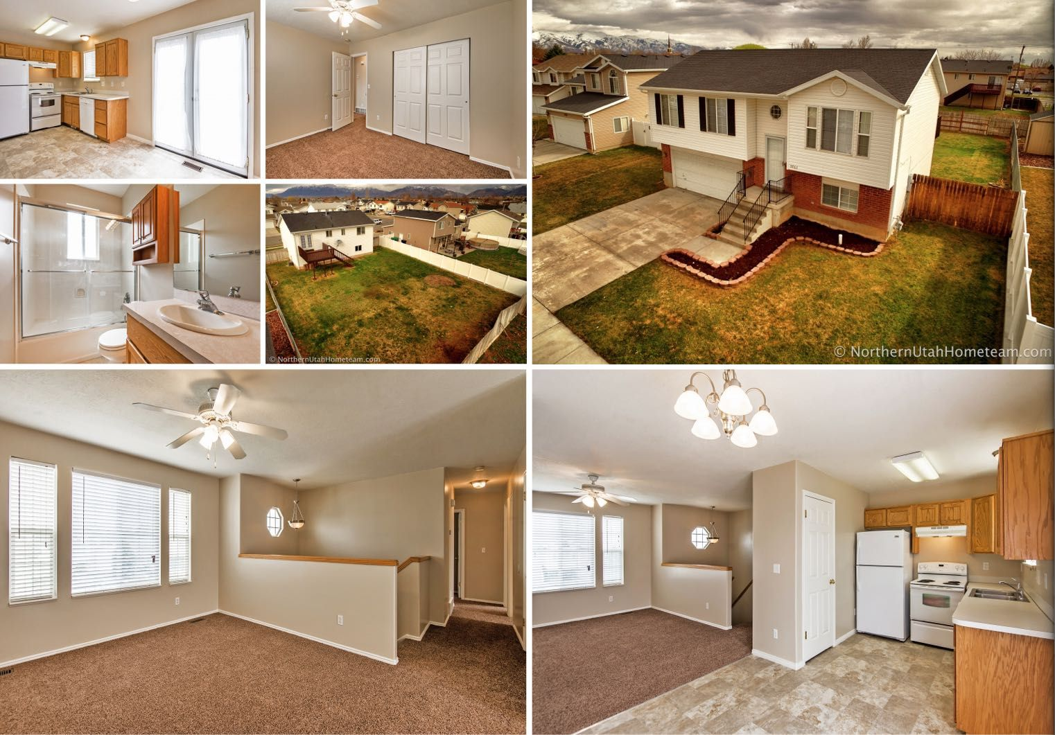 4 Bed 2 Bath Affordable Home For Sale Roy Utah With Finished Basement Home Utah Sale