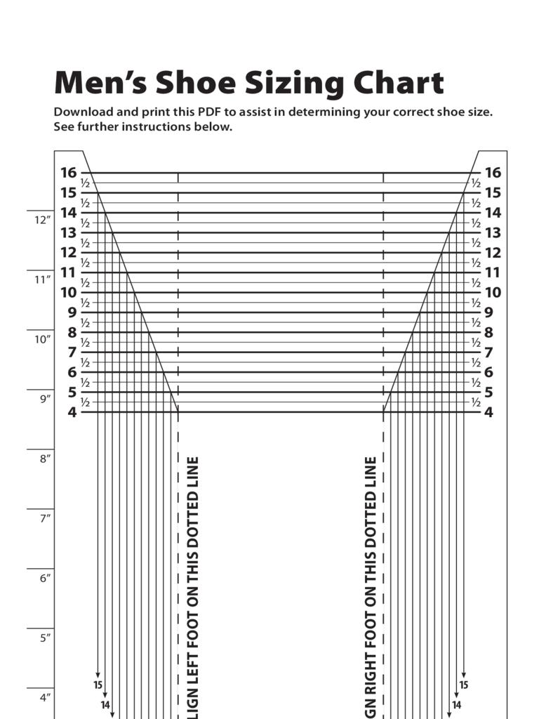 mens-shoe-sizing-chart-d1.png (768×1024) | Shoe Size Charts ...