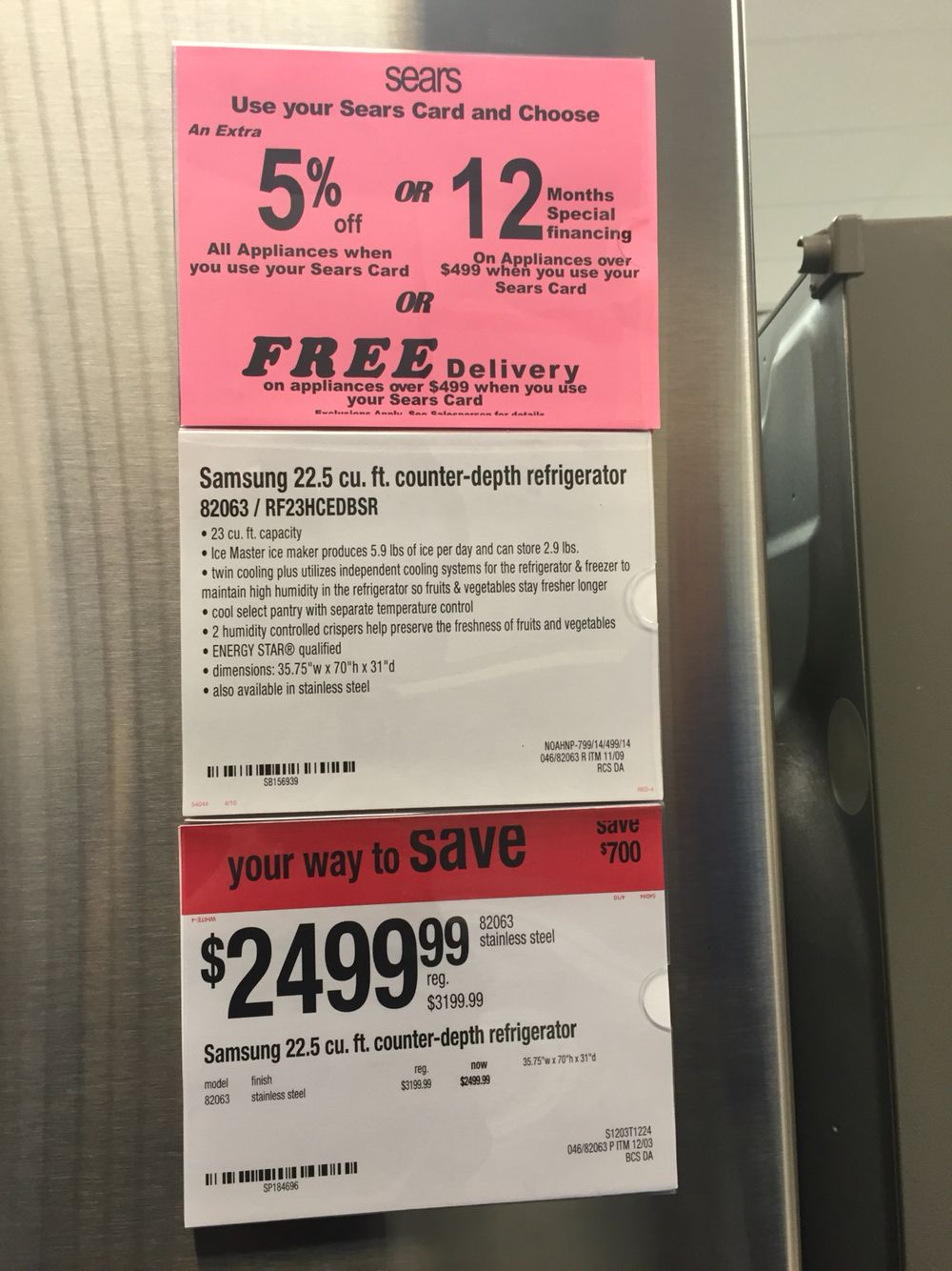 Sears Samsung washer/dryer | Appliances | Pinterest