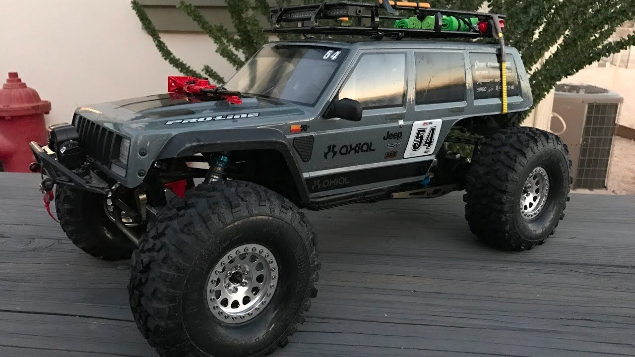 Project Axial Jeep Cherokee Bomber Scx10 Ii Body Jeep Cherokee Armored Truck Lifted Jeep Cherokee