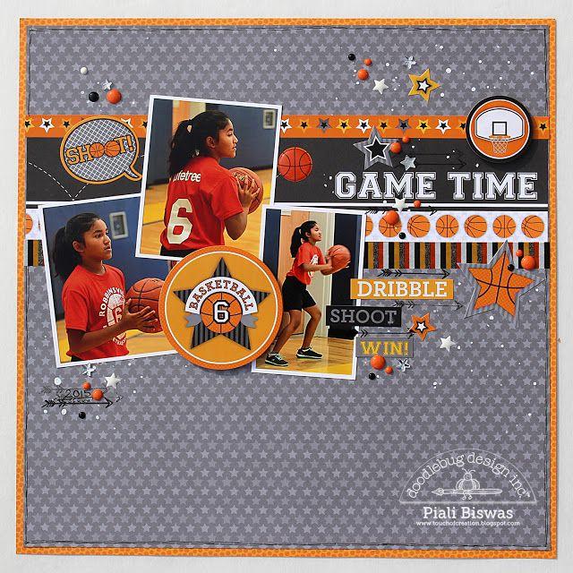Doodlebug Design Inc Blog: Slam Dunk Collection: Game Time