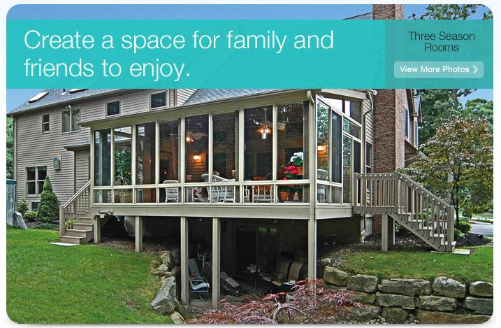 Add Additional Living E To Your Home With A Patio Enclosures Three Season Sunroom Learn