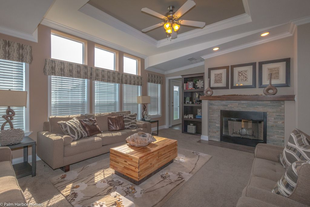 So much beautiful light in the new tradewinds 4 bedrooms - How much are modular homes ...