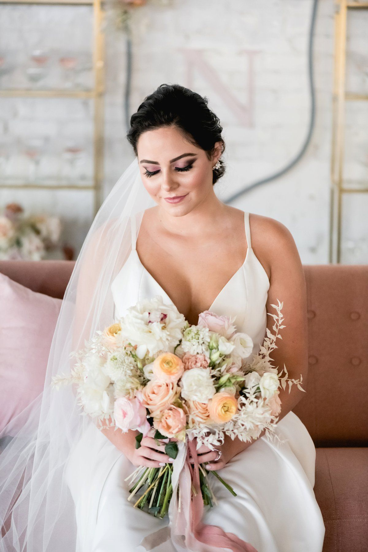 Modern Elegant Blush and Gold Wedding Ideas Blush, gold