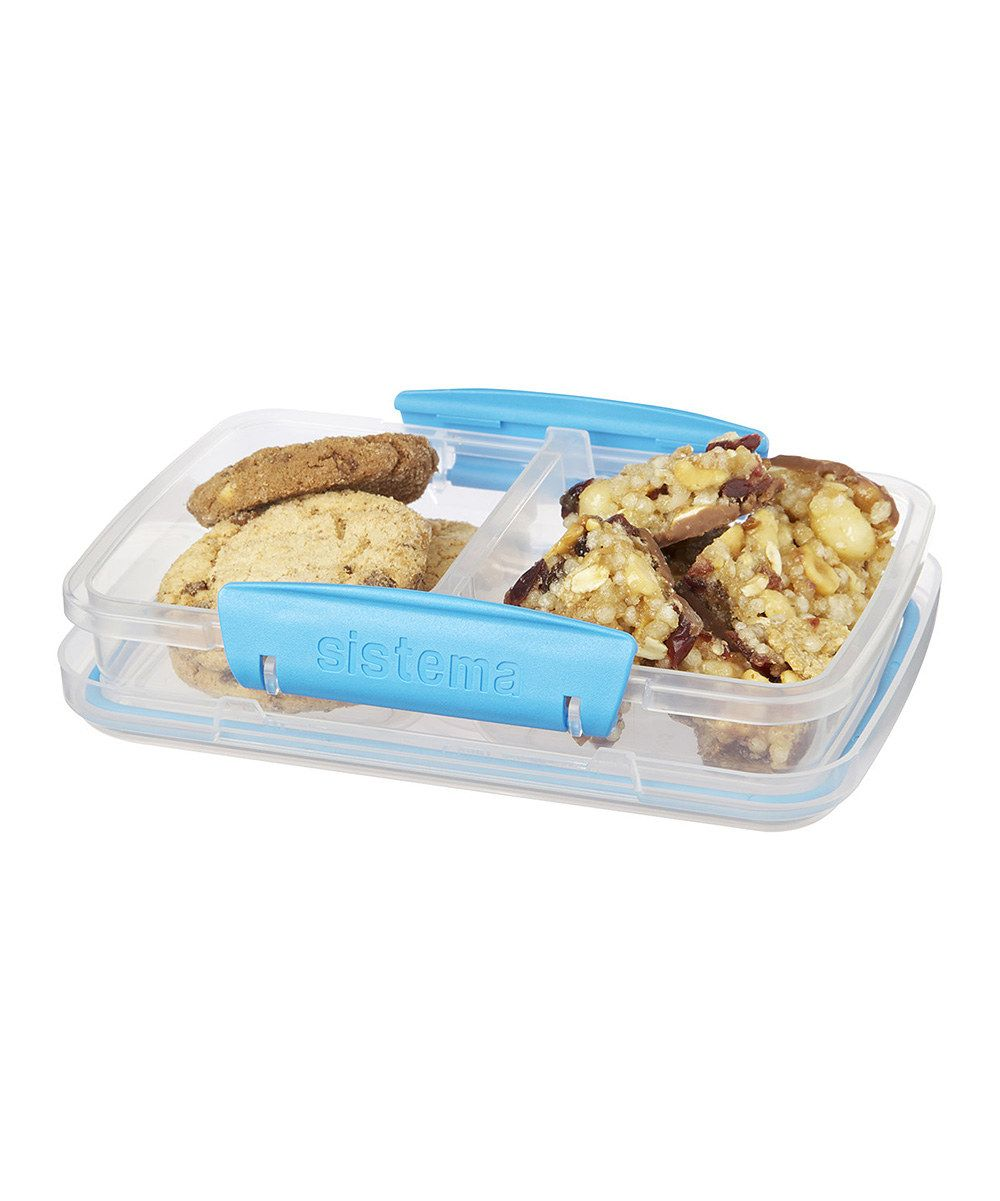 Look at this Blue Small Split To-Go Container on #zulily today!