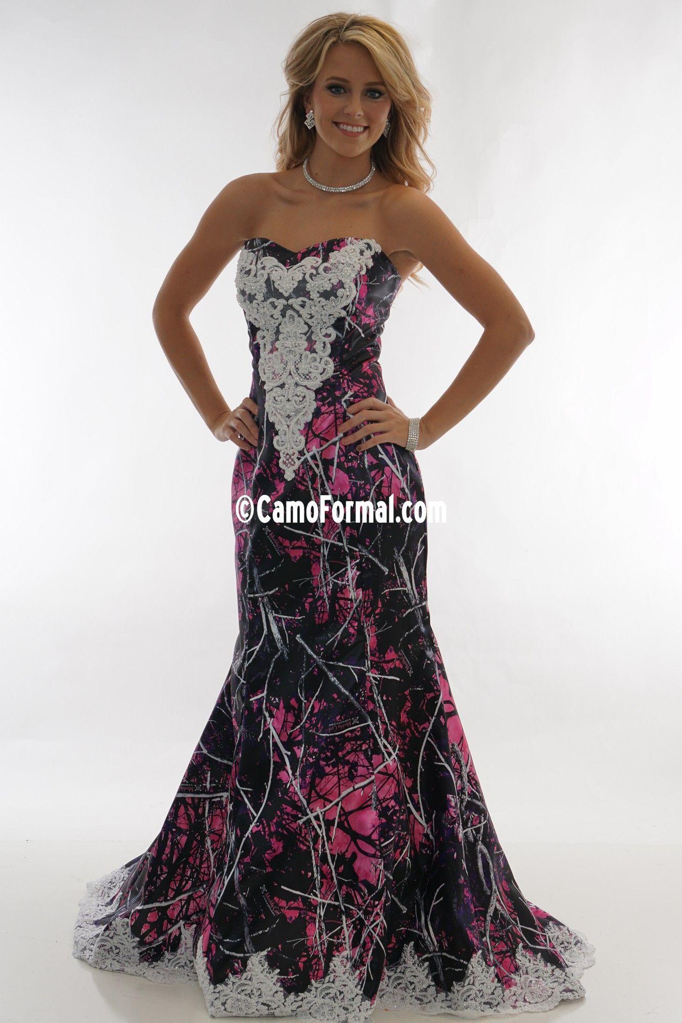 3887 Ellen New Applique Muddy Girl Camo Wedding Dresses Girls