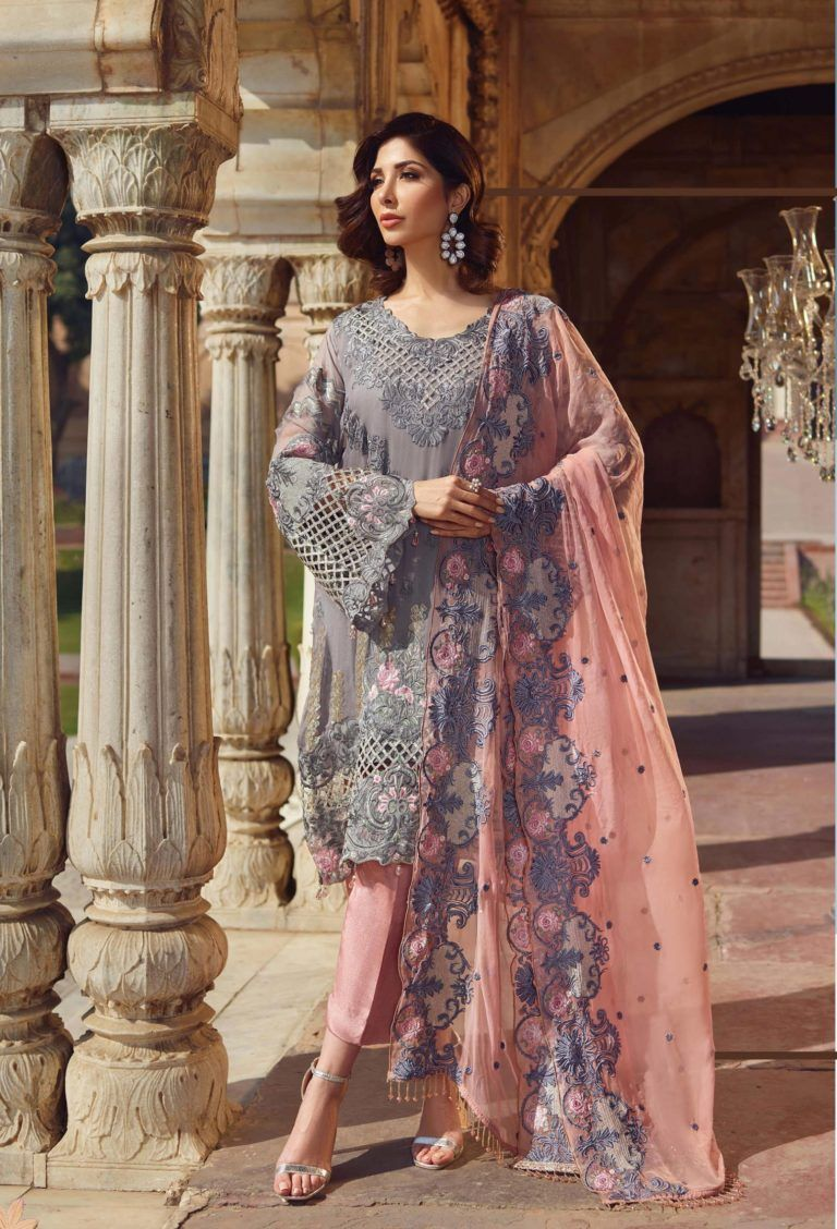 890bc833ac Akbar Aslam Luxury Embroidered Chiffon Pakistani Collection Suits 09 ...