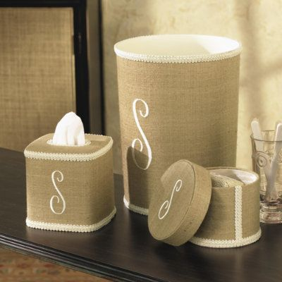 Lovely bathroom accessories