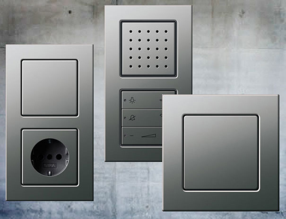 Schalterdesigns Der Unterschiedlichen Hersteller Ratgeber Elektro Schalterprogramm Schalter Und Steckdosen Steckdosen Und Lichtschalter