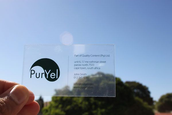 This page will show you how to make your own transparent this page will show you how to make your own transparent translucent and frosted business cards at home reheart Gallery