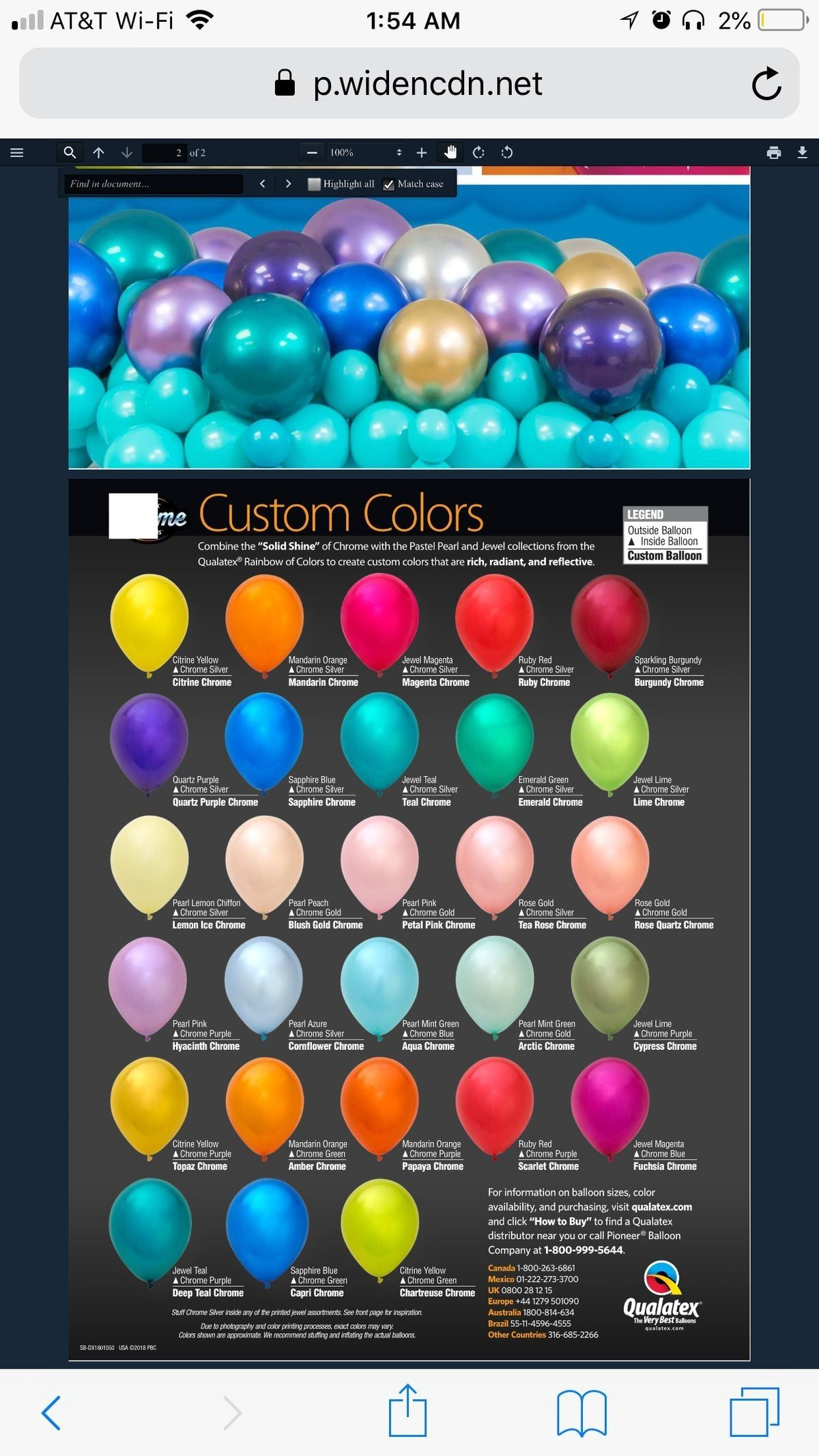 Custom Chrome Colors Qualatex Balloons Custom Balloons Balloons