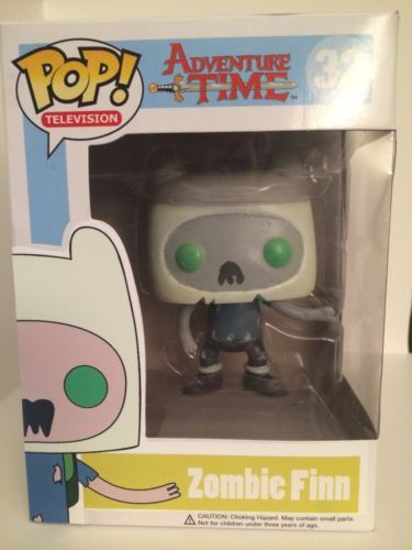 Custom Funko Pop Zombie Finn Glow In The Dark