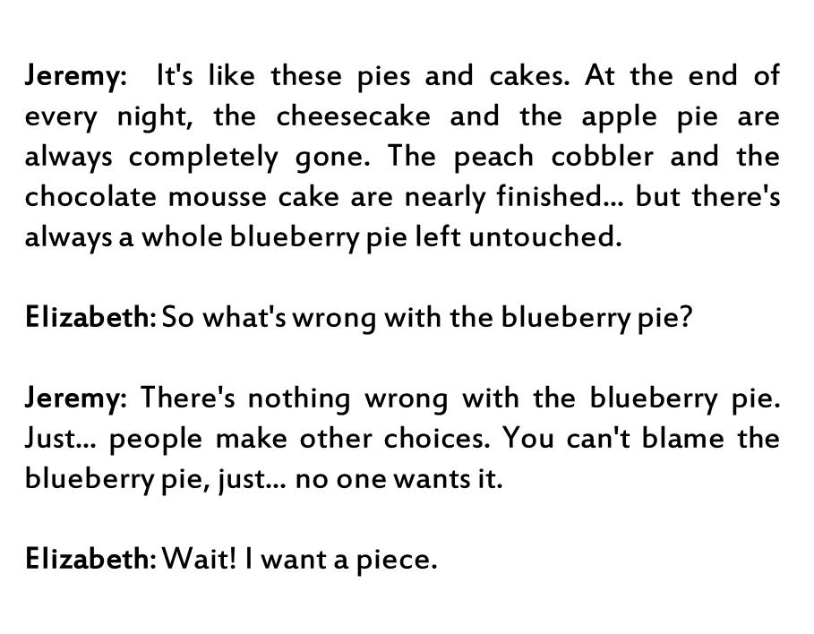 Lyrics containing the term: Blueberry