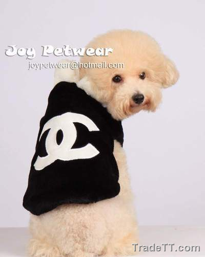 Puppy Designer Clothes | Designer Dog Clothes Chanel Dog Coat China Designer Dog Clothes