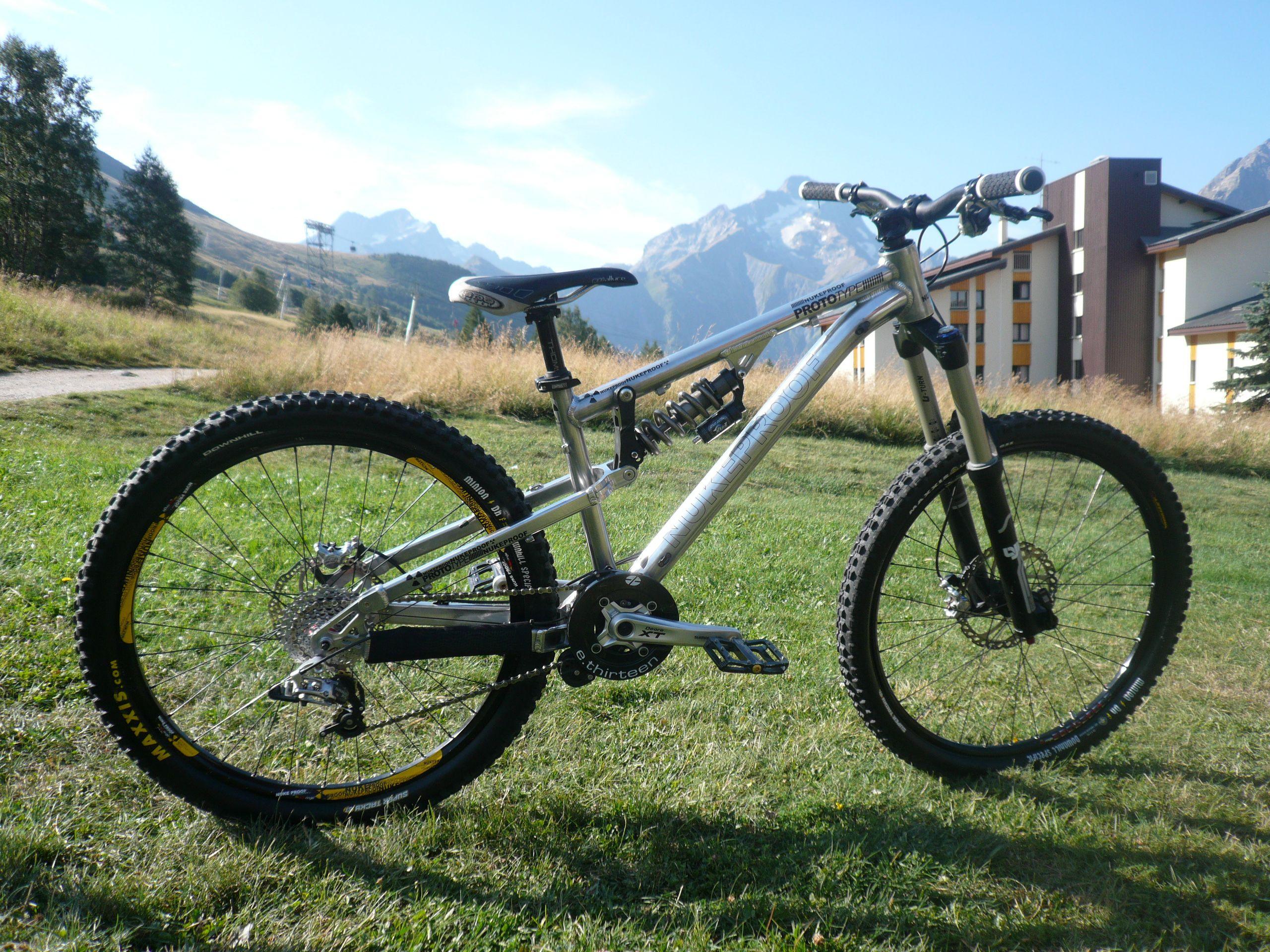 Old Vs New Nukeproof Mega Frame Bike Mountain Biking Olds
