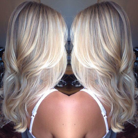 platinum blonde balayage hair style haarfarbe designs. Black Bedroom Furniture Sets. Home Design Ideas