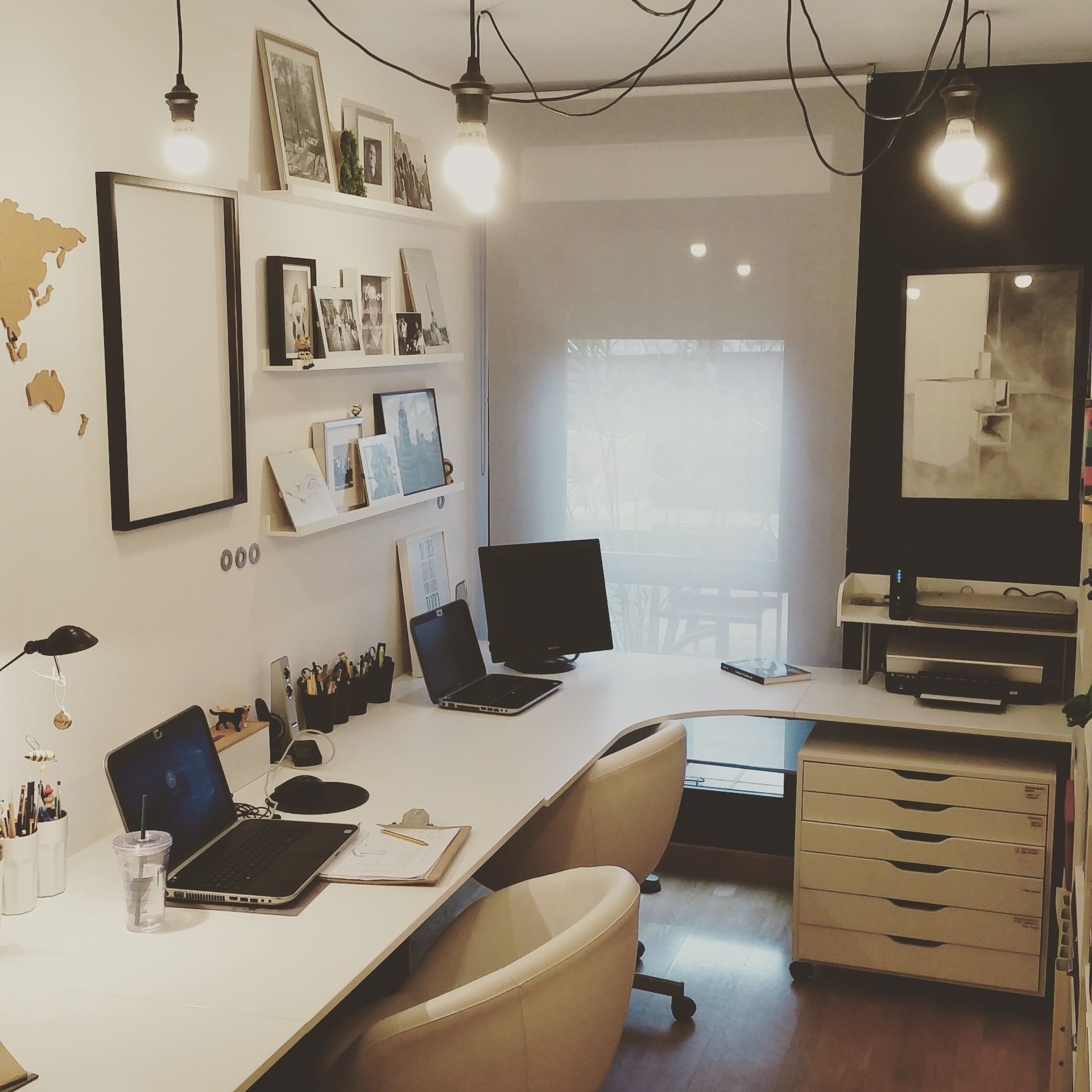 Despacho en casa workplace at home mi casa homepersonalshopper despacho pinterest - Despachos de diseno ...