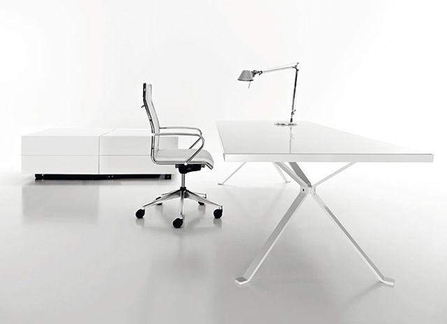 white office table. modern office furniture chairs and desks white table n