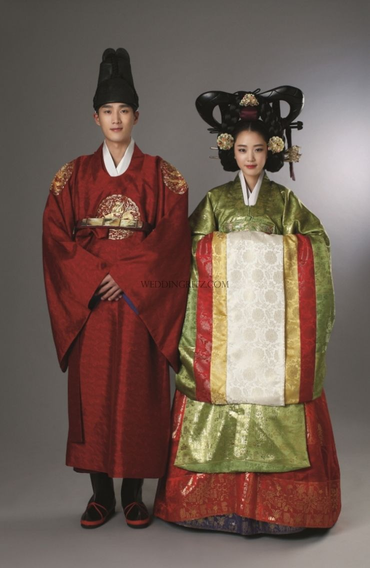 korea prewedding photo korean traditional clothes