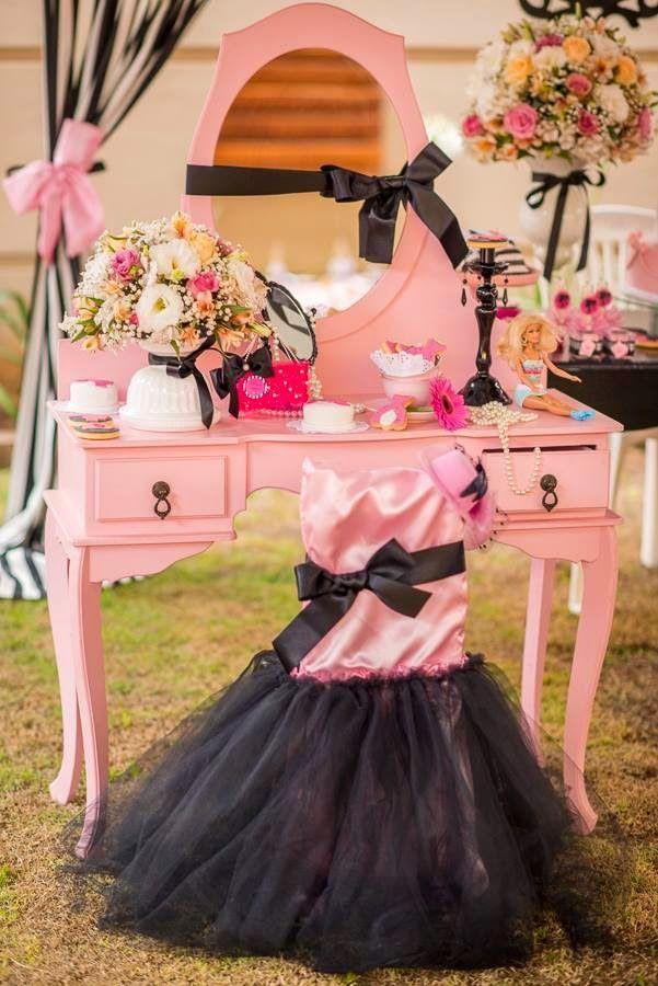 Encontrando Ideias: Festa Barbie!!